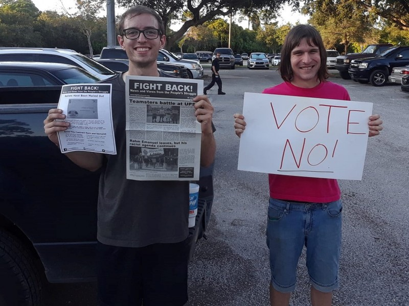 Teamsters Local 79 UPS workers are voting no on tentative
