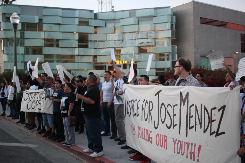 Bloody Christmas Lapd.Boyle Heights Demands Justice For Chicano Teen Killed By